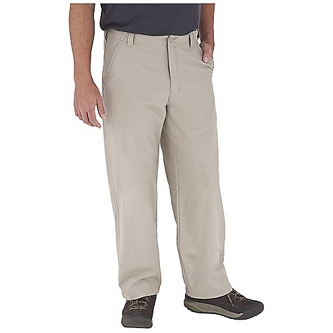 Entertainment Free Shipping. Royal Robbins Men's Global Traveler Pant DECENT FEATURES of the Royal Robbins Men's Global Traveler Pant UPF 40+ Lightweight Teflon finish is stain and water resistant Mesh pocket bags Hidden zip secured front pocket Back welt pockets with hook and loop closure The SPECS Regular fit Fabric: Global Traveler Nylon - $57.95
