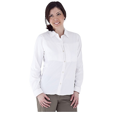 Entertainment Free Shipping. Royal Robbins Women's Expedition Ultra Lt L-S Top DECENT FEATURES of the Royal Robbins Women's Expedition Ultra Lt Long Sleeve Top UPF 50+ Back ventilation Mesh lined yoke Rotated side seams Roll-up sleeve tabs Articulated elbows Zip secured chest pocket Shirt tail hem The SPECS Trim fit Fabric: Light Expedition - $67.95