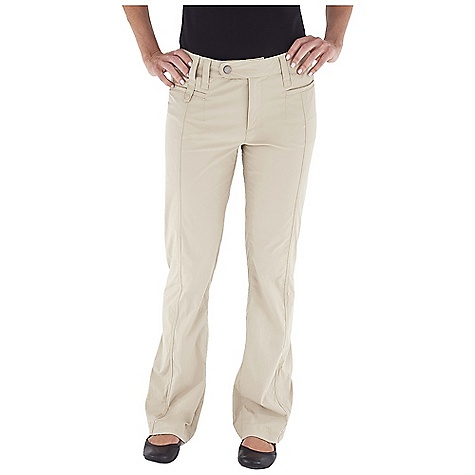 Entertainment Free Shipping. Royal Robbins Women's Discovery Pant DECENT FEATURES of the Royal Robbins Women's Discovery Pant Secured drop-in pocket on front Logo snap at front closure Rotated side seams Zip secured back pockets The SPECS Inseam: small: 29in., regular: 32in. Regular fit Contemporary rise Boot cut Fabric: Discovery Stretch Nylon 5 oz 96% Nylon / 4% Spandex UPF 50+ - $74.95