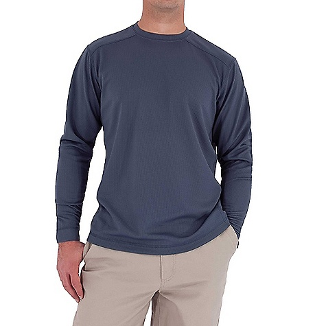 Entertainment Free Shipping. Royal Robbins Men's Performance Waffle Crew Top DECENT FEATURES of the Royal Robbins Men's Performance Waffle Crew Top UPF 50+ Rotated shoulder seams Full length side seam gusset The SPECS Traditional fit Fabric: Performance Waffle - $54.95