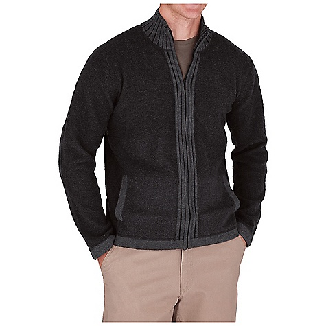 Entertainment Free Shipping. Royal Robbins Men's Clagstone Full Zip Jacket DECENT FEATURES of the Royal Robbins Men's Clagstone Full Zip Jacket Hand warmer pockets Rib at collar, elbow patches and center front Straight hem The SPECS Center Back Length: 28in. Contemporary fit Fabric: Hera Yarn - $84.95