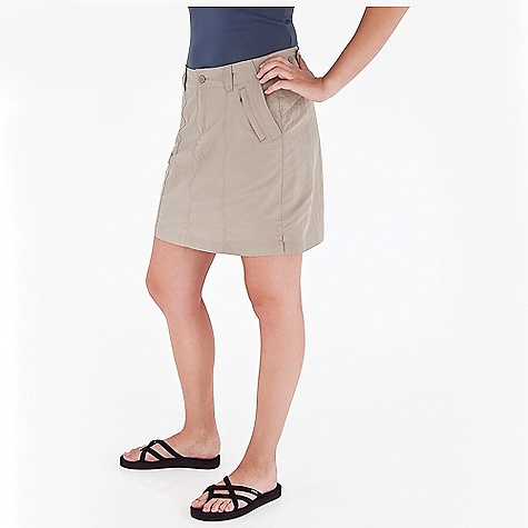Entertainment Free Shipping. Royal Robbins Women's Backcountry Skirt DECENT FEATURES of the Royal Robbins Women's Backcountry Skirt Adjustable button tab at waist Vents at hem The SPECS Regular fit 18in. skirt length Fabric: 3-Ply Laundered Supplex 4 oz 100% Laundered Supplex Nylon UPF 50+ - $57.95