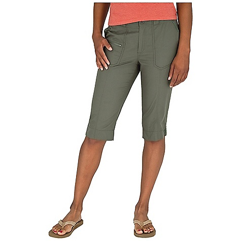 Entertainment Free Shipping. Royal Robbins Women's Bistro Knicker DECENT FEATURES of the Royal Robbins Women's Bistro Knicker Zip secured pocket Logo rivet reinforced pockets Back patch pockets Dyed to match twill tape at pockets, belt loops and hem Double and triple needle stitching at seams and pockets The SPECS Trim fit Contemporary rise Inseam: 16in. Fabric: Butter Twill 5.5 oz 59% Polyester / 39% Cotton / 2% Lycra Spandex Garment washed UPF 50+ - $67.95