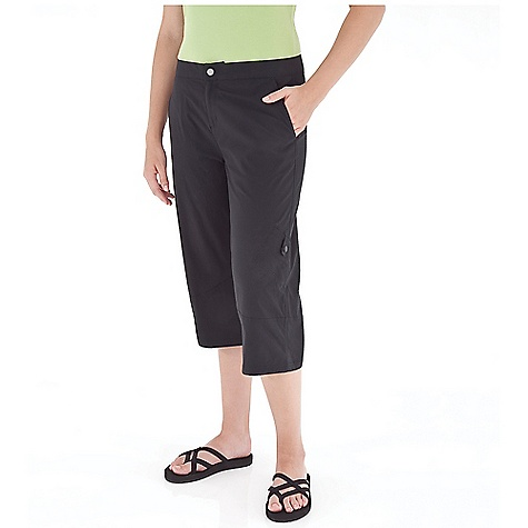 Entertainment Free Shipping. Royal Robbins Women's Discovery Capri DECENT FEATURES of the Royal Robbins Women's Discovery Capri Dri X-treme mesh inside waistband Security button at interior fly Utility pocket Zip secured pocket at back Articulated knees The SPECS Regular fit Inseam: 19in. Fabric: Discovery Stretch Nylon 5 oz 96% Nylon / 4% Spandex UPF 50+ - $63.95