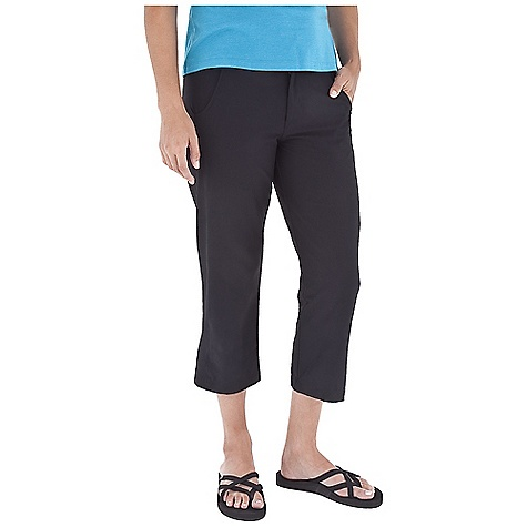 Entertainment On Sale. Free Shipping. Royal Robbins Women's Paseo Traveler Capri FEATURES of the Royal Robbins Women's Paseo Traveler Capri Rotated seams Tab waist for adjustability Security button at interior fly Button front closure Mesh lined pockets Hidden zip secured pocket Zip secured back pocket - $28.99