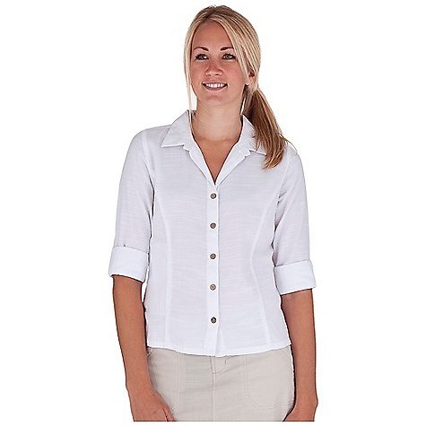 Entertainment Free Shipping. Royal Robbins Women's Cool Mesh 3-4 Sleeve Top DECENT FEATURES of the Royal Robbins Women's Cool Mesh 3/4 Sleeve Top Zip secured pocket Vented sleeve cuffs and side seams Coconut buttons The SPECS Regular fit Standard length Fabric: Cool Mesh 3.8 oz 94% Cotton / 6% Organic Cotton Garment washed - $54.95