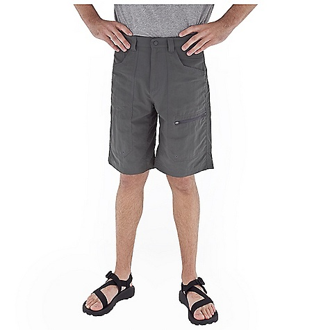 Fitness Free Shipping. Royal Robbins Men's Backcountry Skimmer Short DECENT FEATURES of the Royal Robbins Men's Backcountry Skimmer Short Large coin pocket to accommodate phone/MP3 Zip secured front pockets with drain holes Hook and loop closure on back pockets Double layer seat Brushed tricot lined waistband Standard belt loops Full length running gusset The SPECS Regular fit Inseam: 12in. Fabric: 3-Ply Laundered Supplex 4 oz 100% Laundered Supplex Nylon UPF 50+ - $57.95