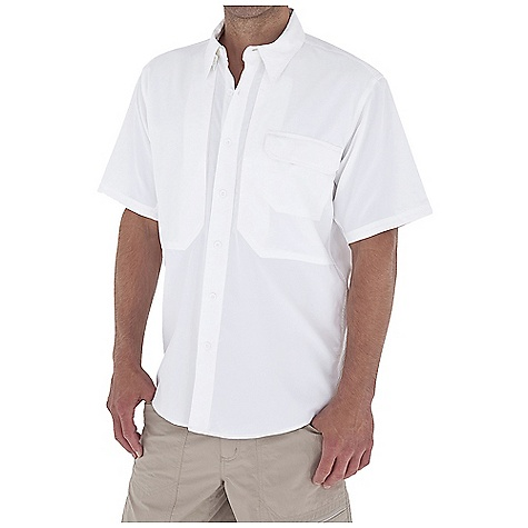 Entertainment Free Shipping. Royal Robbins Men's Expedition Light S-S Top DECENT FEATURES of the Royal Robbins Men's Expedition Light Short Sleeve Top Back ventilation Mesh lined yoke Hidden button down collar Dual secured document pockets Zip secured chest pocket Shirt tail hem The SPECS Relaxed fit Fabric: Light Expedition 2 oz 100% Polyester UPF 50+ - $64.95