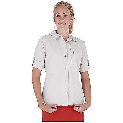 Entertainment On Sale. Free Shipping. Royal Robbins Women's Lt Expedition L/S Top FEATURES of the Royal Robbins Women's Lt Expedition Long Sleeve Top Mesh lined yoke Roll-up sleeve tabs Zip secured pocket Back ventilation Secured document pocket Zip secured chest pocket Modified shirt tail with side vents - $36.99