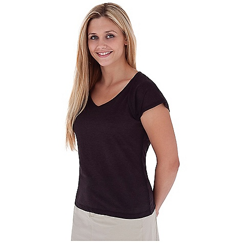 Entertainment Free Shipping. Royal Robbins Women's Briza Cap Sleeve Top DECENT FEATURES of the Royal Robbins Women's Briza Cap Sleeve Top Mesh insert for venting on side seams Straight hem The SPECS Trim fit Standard length Fabric: Briza Dri-Release 5 oz 82% Polyester / 14% Cotton / 4% Elastane Garment washed - $49.95