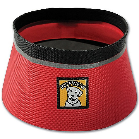 Camp and Hike Ruffwear Bivy Bowl DECENT FEATURES of the Ruffwear Bivy Bowl Welded fabric design creates a watertight seal and allows for single wall construction Stable shape and no-slip bottom for easy eating and drinking Rinse and go for quick clean up Ultra-light (under 2 oz) and compressible for long treks The SPECS for Small Opening: 5in. / 13 cm Capacity: 27 fl oz / 0.8 liter The SPECS for Medium Opening: 6in. / 15 cm Capacity: 51 fl oz / 1.5 liter d - $19.95