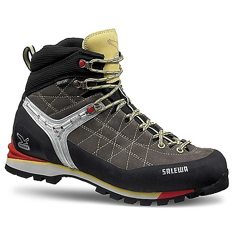 Free Shipping. Salewa Men's MS Rapace GTX Boot DECENT FEATURES of the Salewa Men's MS Rapace GTX Boot Lightweight, agile upper Waterproof Breathable Crampon-compatible Insulates The SPECS Weight: 660 g Insole: Mid Stiff, Nylon Upper: 1.8mm Nubuck, 360deg full rubber rand (FW Fabric) - $278.95