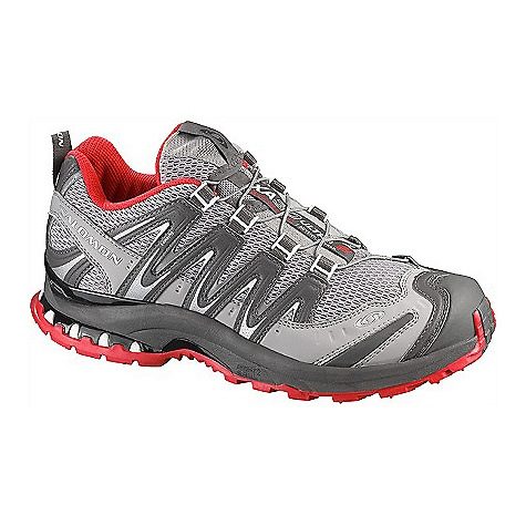 Fitness Free Shipping. Salomon Women's XA Pro 3D Ultra 2 Shoe DECENT FEATURES of the Salomon Women's XA Pro 3D Ultra 2 Shoe Protective rubber toe cap Gusseted tongue Lace pocket Sensifit Asymmetrical lacing Mud guard Quicklace Optimized fit for Women Rubber Belt Quick drying breathable mesh The SPECS Weight: 350g/12.3 oz (SIZE 7 US) Midsole: Molded EVA Midsole: Dual density EVA Midsole: Energy Cell 2 Midsole: Pronation Control Outsole: Non-marking Running Contagrip Sockliner: EVA shaped foot bed Sockliner: Molded EVA Sockliner: OrthoLite Chassis: 3D advanced chassis - $129.95