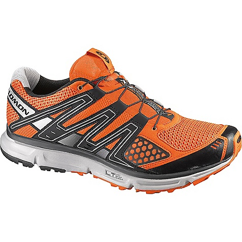Camp and Hike Free Shipping. Salomon Men's XR Mission Shoe DECENT FEATURES of the Salomon Men's XR Mission Outsole: Contragrip LT, Contragrip HA, Non Marking Contragrip, OS Tendon Chassis: Light Weight Muscle Sockliner: Ortholite Midsole: Molded Eva, Compressed Eva Midsole Height: 10mm / 20mm - $109.95