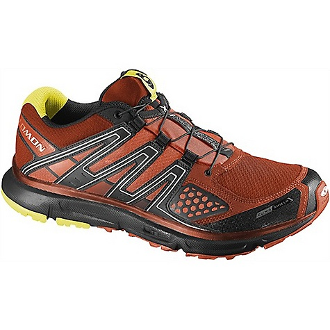Camp and Hike Free Shipping. Salomon Men's XR Mission CS Shoe DECENT FEATURES of the Salomon Men's XR Mission CS Shoe Lace pocket for Quick Fit lacing system Protective TPU toe cap Climashield(TM) membrane The SPECS Weight 350 (8.5) MIDSOLE HEIGHT 9MM / 20MM - $129.95
