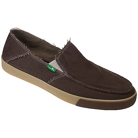 Skateboard On Sale. Free Shipping. Sanuk Men's Standard Shoe DECENT FEATURES of the Sanuk Men's Standard Shoe Lightweight in.Vulc-Litein. construction with canvas sock liner featuring aegis antimicrobial additive Premium herringbone pattern rubber outsole Handmade canvas upper and liner Vegan and vegetarian - $34.99