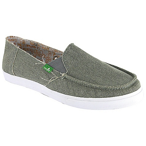 Skateboard On Sale. Free Shipping. Sanuk Women's June Bug Shoes DECENT FEATURES of the Sanuk Women's June Bug Shoes Lightweight in.Vulc-Litein. construction with canvas sock liner featuring aegis antimicrobial additive Premium herringbone pattern rubber outsole Handmade canvas upper and printed liner Vegan and vegetarian - $29.99