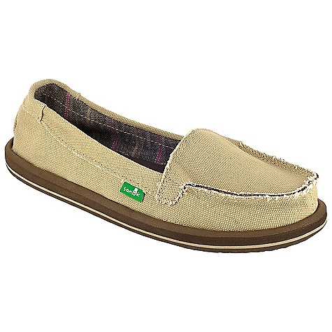 Skateboard On Sale. Free Shipping. Sanuk Women's Shorty Shoe DECENT FEATURES of the Sanuk Women's Shorty Shoe Super Soft, High Rebound, Molded EVA Footbed featuring AEGIS Antimicrobial additive Happy U Rubber Sponge Outsole Handmade Short Vamp Upper featuring Open Vamp Seam with Textile Liner Vegan and Vegetarian - $29.99