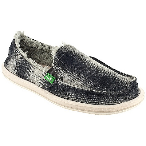 Skateboard On Sale. Free Shipping. Sanuk Women's Campfire Chill DECENT FEATURES of the Sanuk Women's Campfire Chill Super soft, high rebound, molded EVA footbed featuring aegis antimicrobial additive Happy u outsole Handmade plaid flannel upper featuring closed vamp seam with super comfy faux shearling chill liner Vegetarian - $37.99