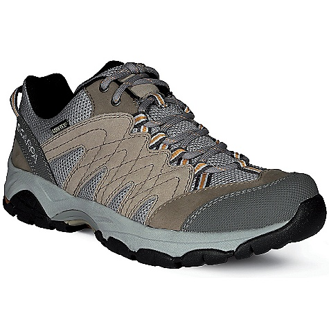 Camp and Hike Free Shipping. Scarpa Women's Moraine GTX Shoe DECENT FEATURES of the Scarpa Women's Moraine GTX Shoe Dual-density compression molded EVA midsole Structured toebox with abrasion resistant toe rand Extended Comfort Gore-Tex for protection with maximum breathability Tongue lining made with stretch GTX XCF for outstanding fit and comfort through the midfoot area Planet Friendly 29% recycled polyester mesh 40% recycled synthetic leather 100% PC recycled lining; 70% recycled stroebel Lace and webbing is 100% Ecosensor recycled polyester Midsole has Eco Pure EVA additive to promote degradation in landfill conditions 25% recycled rubber outsole The SPECS Upper: Suede/Nubuck leather and recycled polyester mesh Lining: Gore-Tex - Extended Comfort Plate: Arch Suspension Insert Midsole: Dual-Density Molded EVA Outsole: Trail-Grip Last: AX1/AXL1 Weight: 1/2 pair: 14 oz / 397 g - $134.95