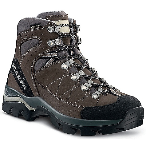 Camp and Hike On Sale. Free Shipping. Scarpa Women's Bhutan GTX Boot DECENT FEATURES of the Scarpa Women's Bhutan GTX Boot Super shock-absorbing Vibram Hi-Trail Lite sole Performance Comfort Gore-Tex to keep your feet dry Bi-directional ankle flex Toe Rand for critical protection Durable Nubuck leather uppers The SPECS Upper: Nubuck Lining: Gore-Tex - Performance Comfort Insole: Comfort-Flex Midsole: PU/EVA Sole: Vibram Hi-Trail Lite Last: BXD Weight: 1/2 pair: 1 lb 5 oz / 560 g - $178.99