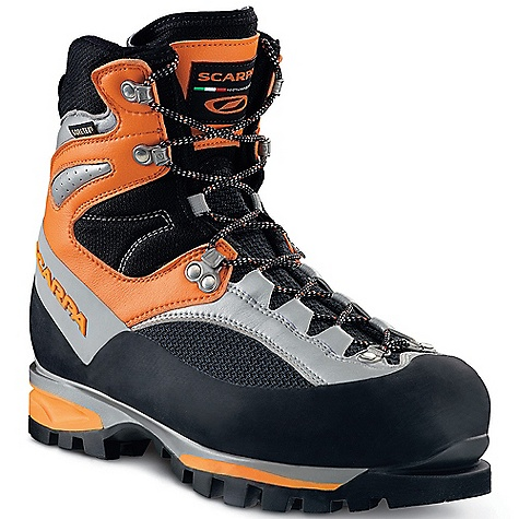 On Sale. Free Shipping. Scarpa Men's Jorasses Pro GTX Boot DECENT FEATURES of the Scarpa Men's Jorasses Pro GTX Boot Automatic, and semi-automatic crampon-compatible Insulated Comfort Gore-Tex keep your feet warm and dry Extremely light with flexible cuff and Advanced Mid-Sole System providing maximum comfort on long climbs Sensitive enough for the most technical routes, comfortable enough for long approaches Articulated Flex Point ankle The SPECS Upper: K-Tech and Lorica Lining: Gore-Tex - Insulated Comfort Insole: Pro-Fiber Midsole: PU/Pebax Sole: Vibram Total Traction Last: AG Weight: 1/2 pair: 1 lb 14 oz / 850 g - $313.99