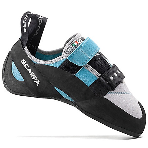 Climbing On Sale. Free Shipping. Scarpa Women's Vapor V Shoe DECENT FEATURES of the Scarpa Women's Vapor V Shoe Bi-Tension active randing system provides maximum toe power without painful 'cramming' Dual powerstrap closure Vibram XS Grip 2 makes these shoes stick like glue Lorica toebox provides long-term fit and comfort The SPECS Upper: Suede/Lorica Midsole: Flexan Sole: Vibram XS Grip2; 4mm Last: FR Weight: 1/2 pair: 8.3 oz / 236 g - $110.99