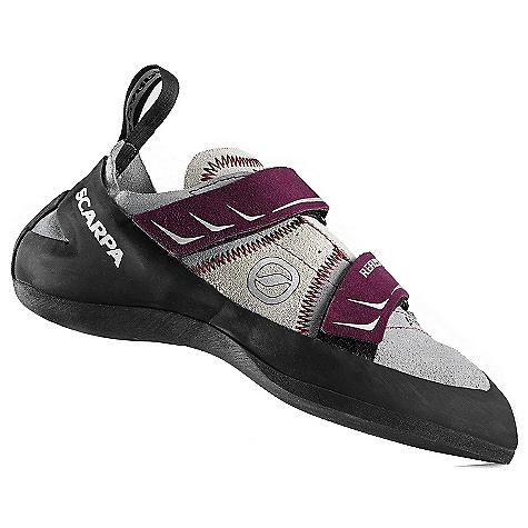 Climbing Free Shipping. Scarpa Women's Reflex Climbing Shoe FEATURES of the Scarpa Women's Reflex Climbing Shoe Passive rubber rand offers classic performance and foot protection Convenient, anatomical, dual power straps Equally at home at the gym or the crag Can be sized for performance or comfort Sensitive enough for the steeps, stiff enough for the edging - $108.95