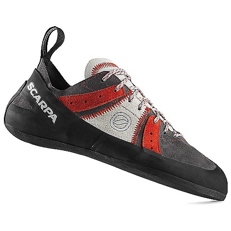 Climbing On Sale. Free Shipping. Scarpa Men's Helix Climbing Shoe FEATURES of the Scarpa Men's Helix Climbing Shoe Passive rubber rand offers classic performance and foot protection Incredible comfort at any grade Available up to a size 50 Can be sized for performance or comfort - $68.99
