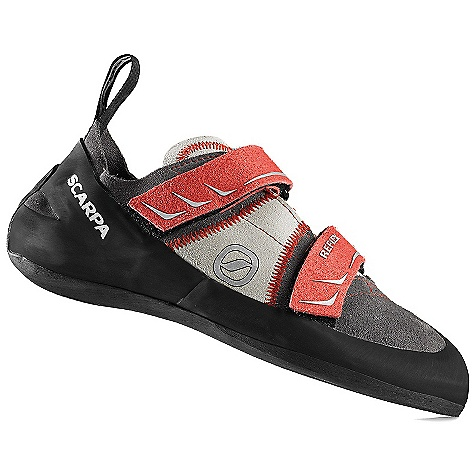 Climbing Free Shipping. Scarpa Men's Reflex Climbing Shoe DECENT FEATURES of the Scarpa Men's Reflex Climbing Shoe Convenient, anatomical, dual power straps Equally at home at the gym or the crag Can be sized for performance or comfort Sensitive enough for the steeps, stiff enough for the edging The SPECS Upper: Suede Midsole: Flexan Sole: TAC 100, 4 mm Last: FF Weight: 1/2 pair: 8.3 oz / 236 g - $98.95