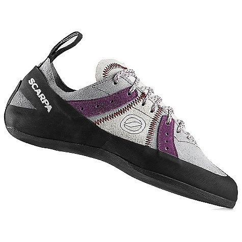 Climbing Free Shipping. Scarpa Women's Helix Climbing Shoe DECENT FEATURES of the Scarpa Women's Helix Climbing Shoe Incredible comfort at any grade Available up to a size 50 Can be sized for performance or comfort The SPECS Upper: Suede Midsole: Flexan Sole: TAC 100, 4 mm Last: FF Weight: 1/2 pair: 7.2 oz / 204 g - $98.95