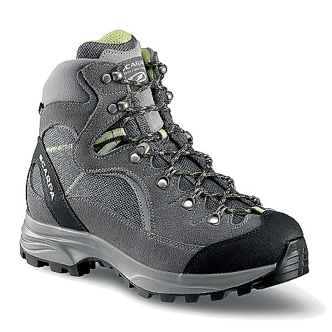 Camp and Hike Free Shipping. Scarpa Women's Manali GTX Boot DECENT FEATURES of the Scarpa Women's Manali GTX Boot Performance Comfort Gore-Tex to keep your feet dry Bi-directional ankle flex Protective toe rand Easily tensioned lacing system Vibram sole for excellent traction and durability Activfit technology provides incredible fit, out of the box and down the trail The SPECS Upper: Suede/Nylon Lining: Gore-Tex - Performance Comfort Insole: Activ Light Midsole: PU Fly Sole: Vibram Biometric Last: LBE Weight: 1/2 pair: 1 lb 3 oz / 540 g - $258.95