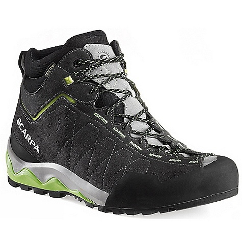 Camp and Hike Free Shipping. Scarpa Men's Tech Ascent GTX Boot FEATURES of the Scarpa Men's Tech Ascent GTX Boot Vibram Vertical Approach sole with sticky rubber Overlasted rubber toe rand Gore-Tex Extended Comfort technology - $248.95