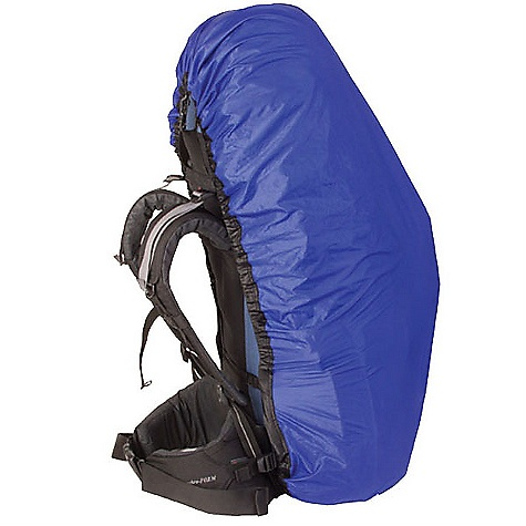 Sea to Summit UltraSil Cordura Pack Cover FEATURES of the Sea to Summit UltraSil Cordura Pack Cover 30D siliconized Cordura 2,000mm waterhead in.No seamin. construction for water resistance Mid-back keeper strap Packaged in its own Ultra-Sil stuff sack Drainage hole on the base - $41.95