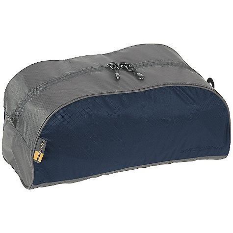 Entertainment Features of the Sea to Summit Toiletry Bags Two internal mesh pockets for organization Stand up Dopp kit Durable YKK zips with Hypalon grab tabs for easy, secure opening and closing Super-light, strong and water-resistant Ultra-Sil fabric made with Cordura yarn - $19.95