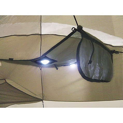 Camp and Hike On Sale. Sierra Designs Night Glow Attic DECENT FEATURES of the Sierra Designs Night Glow Attic Intended Usage: The Night Glow Attic doubles as a lighting source; LED bulbs illuminate the tent's interior, helping inhabitants to organize gear or to locate the tent after hours. - $22.99