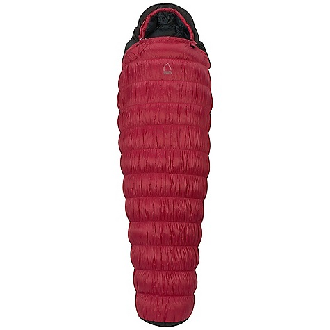 Camp and Hike On Sale. Free Shipping. Sierra Designs Arrow Rock 15 Degree Sleeping Bag DECENT FEATURES of the Sierra Designs Men's Arrow Rock 15 Degree Sleeping Bag Snag-free zipper tracks Draw cord at collar Draft collar Flex stretch internal andexternal construction Ergonomic hood and footbox Pillow pocket Easy access, ventable, 60in. zipper Zipper draft tube Includes stuff and storage sack The SPECS Temperature Rating: 15deg F / -9deg C Zipper Side: Left Stuff Size: 8in. x 16in. Material: Fill: 600 Fill-Power Down Shell: 30D Polyester Micro-Ripstop Liner: 30D Polyester The SPECS for Regular Trail Weight: 2 lbs 13 oz Shoulder Girth: 57 - 65in. Hip Girth: 53 - 61in. Footbox Girth: 35 - 43in. Fits Up To: 6' Fill Weight: 26 oz The SPECS for Long Trail Weight: 3 lbs 0 oz Shoulder Girth: 59 - 67in. Hip Girth: 55 - 63in. Footbox Girth: 37 - 45in. Fits Up To: 6'6in. Fill Weight: 28 oz - $179.99