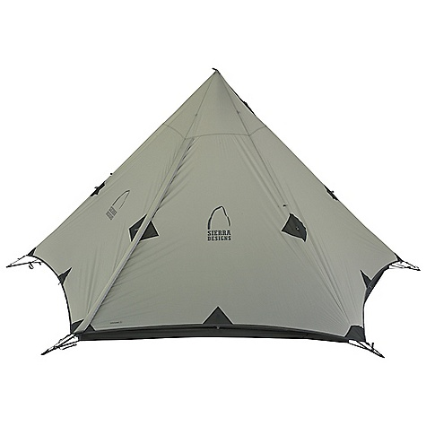 Free Shipping. Sierra Designs Origami 3 Tarp DECENT FEATURES of the Sierra Designs Origami 3 Tarp PVC-free seam tape Reflective door trim and guy outs Vent 5 Sided design Pole included Optional floor The SPECS Season: 3 Capacity: 3 Person Trail Weight: 2 lbs 13 oz / 1.28 kg Packed Weight: 3 lbs 6 oz / 1.53 kg Packed Dimension: 20 x 5.5in. / 50.8 x 14 cm Number of Doors: 1 Interior Area: 62 square feet Peak Height: 60in. Fly: 40D HT Nylon, 1500mm Poles: DAC Press Fit - $229.95
