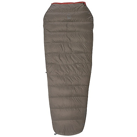 Camp and Hike On Sale. Free Shipping. Sierra Designs Wicked Light 45 Degree Sleeping Bag DECENT FEATURES of the Sierra Designs Wicked Light 45 Degree Sleeping Bag Snag-free zipper tracks Draw cord at collar Semi-rectangular shape Full length separating zipper Includes stuff and storage sacks The SPECS Temperature Rating: 45deg F / 7deg C Zipper Side: Left Stuff Size: 6in. x 16in. Material: Fill: 800 Fill-Power Goose Down Shell: 20D Nylon Ripstop Liner: 20D Nylon Ripstop The SPECS for Regular Trail Weight: 1 lb 6 oz Shoulder Girth: 60in. Hip Girth: 57in. Footbox Girth: 39in. Fits Up To: 6' Fill Weight: 9 oz The SPECS for Long Trail Weight: 1 lb 9 oz Shoulder Girth: 62in. Hip Girth: 59in. Footbox Girth: 41in. Fits Up To: 6'6in. Fill Weight: 11 oz - $209.99