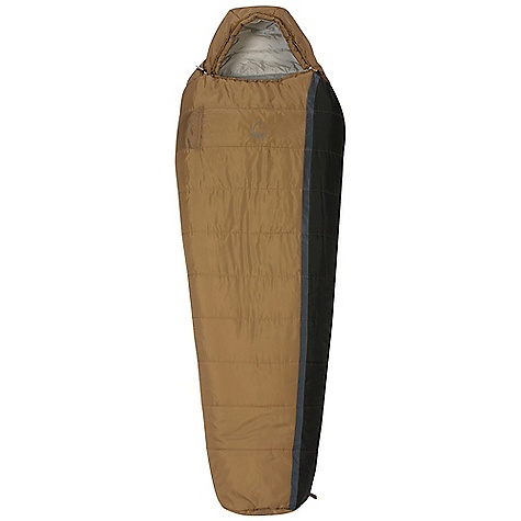 Camp and Hike Free Shipping. Sierra Designs Wild Bill 35 Degree Sleeping Bag DECENT FEATURES of the Sierra Designs Men's Wild Bill 35 Degree Sleeping Bag Ergonomic hood and footbox Snag-free zipper tracks Draw cord at collar Offset Layer Construction Pillow pocket Easy access, ventable, 60in. zipper Zipper draft tube Includes stuff and storage sacks Chest pocket for valuables The SPECS Temperature Rating: 35deg F / 2deg C Zipper Side: Left Stuff Size: 8in. x 16in. Material: Fill: HeatSync Shell: 68D Polyester Liner: 50D Polyester The SPECS for Regular Trail Weight: 2 lbs 6 oz Shoulder Girth: 62in. Hip Girth: 58in. Footbox Girth: 40in. Fits Up To: 6' Fill Weight: 21 oz The SPECS for Long Trail Weight: 2 lbs 10 oz Shoulder Girth: 64in. Hip Girth: 60in. Footbox Girth: 42in. Fits Up To: 6'6in. Fill Weight: 23 oz The SPECS for X Long Trail Weight: 2 lbs 15 oz Shoulder Girth: 68in. Hip Girth: 66in. Footbox Girth: 46in. Fits Up To: 7' Fill Weight: 27 oz - $119.95