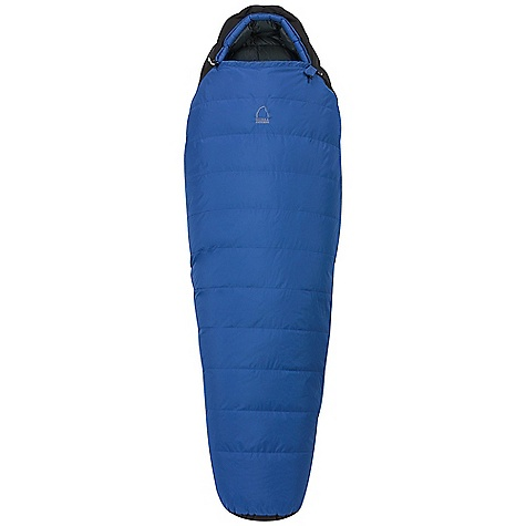Camp and Hike On Sale. Free Shipping. Sierra Designs Trade Wind 15 Degree Sleeping Bag DECENT FEATURES of the Sierra Designs Men's Trade Wind 15 Degree Sleeping Bag Snag-free zipper tracks Draw cord at collar Draft collar Drizone waterproof-breathable shell Pillow pocket Easy access, ventable, 60in. zipper Zipper draft tube Ergonomic hood and foot box Tuck Stitch construction The SPECS Temperature Rating: 15deg F / -9deg C Zipper Side: Left Material: Fill: 600 Fill-Power Down Shell: 40D Drizone Nylon Ripstop Liner: 30D Polyester The SPECS for Regular Trail Weight: 2 lbs 15 oz Shoulder Girth: 62in. Hip Girth: 58in. Footbox Girth: 40in. Fits Up To: 6' Fill Weight: 26 oz Stuff Size: 8in. x 17in. The SPECS for Long Trail Weight: 3 lbs 5 oz Shoulder Girth: 64in. Hip Girth: 60in. Footbox Girth: 42in. Fits Up To: 6'6in. Fill Weight: 28 oz Stuff Size: 8in. x 18in. - $199.99