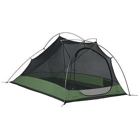 Camp and Hike Free Shipping. Sierra Designs Vapor Light 2 Person XL Tent DECENT FEATURES of the Sierra Designs Vapor Light 2 Person XL Tent PVC-free seam tape Superseal floor Reflective door trim and guy outs Hanging pockets Long floor length Ultralight d-door Color-coded main door Ultralight clips Jakes foot pole attachment Ball cap connector Sunflower hub The SPECS Season: 3 Capacity: 2 Person Trail Weight: 3 lbs 12 oz / 1.70 kg Packed Weight: 4 lbs 1 oz / 1.84 kg Packed Dimension: 20 x 6in. / 50.8 x 15.2 cm Number of Doors: 1 Interior Area: 30.5 square feet Vestibule Area: 8 square feet Peak Height: 38in. Floor: 40D Nylon, 3000 mm Body: 20D Nylon Fly: 40D Nylon, 1500mm Poles: DAC Featherlite NSL - $334.95