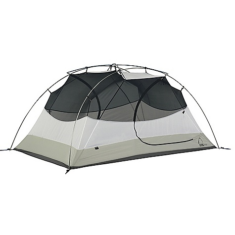 Camp and Hike Free Shipping. Sierra Designs Zia 2 Person Tent (w-FP and Gear Loft) DECENT FEATURES of the Sierra Designs Zia 2 Person Tent PVC-free seam tape Superseal Floor Dye-Free Optic White Canopy Reflective door trim and/or guy outs Hanging pockets D doors 2 doors, 2 vestibules Clip Locs SD Swift Clip Grommet pole attachment Locking pole tips Ball cap connector Swivel Hub (H,C, H/C) The SPECS Capacity: 2 Season: 3 Trail Weight: 5 lbs 1 oz / 2.30 kg Packed Weight: 5 lbs 9 oz / 2.52 kg Number of Doors: 2 Number of poles: 2 main, 1 hubbed ridge Pole Diameter: 8.5 mm Footprint Weight: 7 oz Footprint Attachment: Grommet Interior Area: 2.79 square meter / 30 square feet Vestibule Area: .74 + .56 square meter / 8 + 6 square feet Peak Height: 40in. / 102 cm Packed Length: 21in. Packed Diameter: 6in. Materials: Floor: 70D Nylon, 3000 mm Body: 68D Polyester, dye free Fly: 75D Polyester, 1500 mm - $219.95