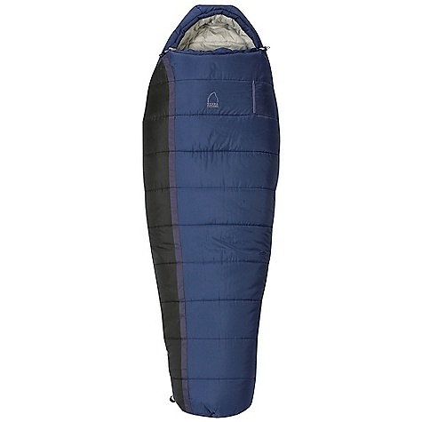 Camp and Hike Free Shipping. Sierra Designs Women's Whoa Nelly 25 Sleeping Bag DECENT FEATURES of the Sierra Designs Women's Whoa Nelly 25 Sleeping Bag Specific construction and warmth rating Snag-free zipper tracks Draw cord at collar with captured cordlock Draft collar Pillow pocket Easy access, ventable, 60in. zipper Zipper draft tube Ergonomic hood and footbox Includes stuff and storage sacks Offset, layered construction Chest pocket for valuables The SPECS Temperature Rating: 25deg F / -4deg C Zipper Side: Right Fill: HeatSync Shell: 68D Polyester Liner: 50D Polyester The SPECS for Regular Fit Up To: 5'6in. Shoulder Girth: 57in. Hip Girth: 57in. Footbox Girth: 39in. Fill Weight: 44 oz Stuff Size: 11 x 15in. Trail Weight: 3 lbs 15 oz The SPECS for Long Shoulder Girth: 59in. Hip Girth: 59in. Footbox Girth: 40in. Fill Weight: 48 oz Stuff Size: 11 x 16in. Trail Weight: 4 lbs 4 oz - $139.95
