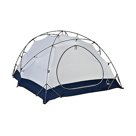Camp and Hike Free Shipping. Sierra Designs Mountain Meteor 3 Tent DECENT FEATURES of the Sierra Designs Mountain Meteor 3 Tent Snowflap on vestibule Interlocks Eye pole, patented 7.766.023 Pole configuration PVC-free seam tape Patented jake's corner Superseal floor Dye-free optic white canopy Reflective door trim and guy outs Hanging pockets Fast pack footprint compatible Patented stash door 2 Doors, 2 vestibules Sew-free window Air lift vent The SPECS Season: 4 Capacity: 3 Person Trail Weight: 11 lbs 5 oz / 5.13 kg Packed Weight: 12 lbs 9 oz / 5.7 kg Packed Dimension: 23 x 7in. / 58 x 18 cm Number of Doors: 2 Interior Area: 53.5 square feet Vestibule Area: 16 + 7.5 square feet Peak Height: 47in. Floor: 70D Nylon, 5000mm Body: 70D Nylon, Dye-Free White Fly: 40D HT Nylon, 1500mm Poles: DAC Featherlite NSL - $699.95