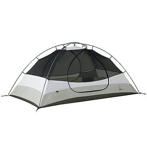 Camp and Hike Free Shipping. Sierra Designs Zolo 3 Tent DECENT FEATURES of the Sierra Designs Zolo 3 Tent PVC-free seam tape Superseal floor Dye-free optic white canopy Reflective door trim and guy outs Hanging pockets Long floor length Patented stash door 2 Doors, 2 vestibules Sew-free window SD swift clip Ball cap connector Swivel hub (h,c, h/c) Reverse combi poles The SPECS Season: 3 Capacity: 3 Person Trail Weight: 7 lbs / 3.18 kg Packed Weight: 7 lbs 9 oz / 3.43 kg Packed Dimension: 22 x 6in. / 55.9 x 15.2 cm Number of Doors: 2 Interior Area: 48 square feet Vestibule Area: 11 + 11 square feet Peak Height: 45in. Floor: 70D Nylon, 3000mm Body: 68D Polyester, Dye-Free Fly: 75D Polyester, 1500 mm Poles: DAC Press fit - $309.95