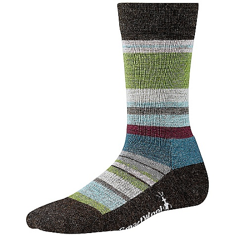 Smartwool Women's Saturnsphere Sock FEATURES of the Smartwool Women's Saturnsphere Sock Supportive arch brace 68% Merino Wool, 31% Nylon, 1% Elastane - $20.95