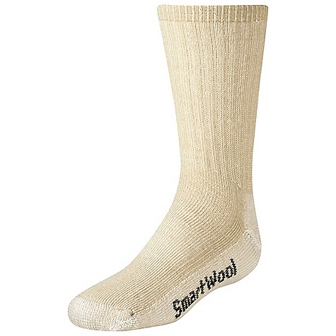 Camp and Hike Smartwool Kids' Hiking Medium Crew Sock FEATURES of the Smartwool Kids' Hiking Medium Crew Sock Elasticized arch brace Flat knit toe seam Made in USA - $11.95