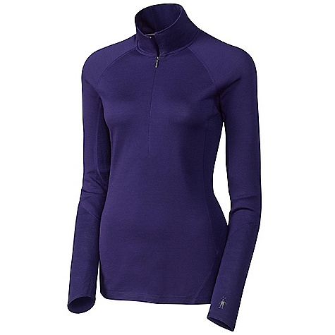 Free Shipping. Smartwool Women's Lightweight Zip T DECENT FEATURES of the Smartwool Women's Lightweight Zip T Form Fit Jersey and Rib knit; UPF 35 Concealed 12in. (31.5cm) center front zip with logo puller Sculpted side panels eliminate true side seams for reduced chafing and body enhancing fit Contoured sleeve cuff and drop tail bottom hem for increased coverage Interior flatlock seams with contrast color stitching Heat transfer logo at left sleeve cuff The SPECS Garment Weight: 7.41 oz / 210 g Fabric Weight: 5.7 oz/yd2 / 195 gm/m2 Fabric: 100% Merino Wool - $94.95