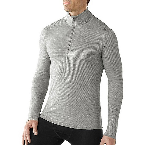Free Shipping. Smartwool Men's NTS Microweight Zip T Shirt DECENT FEATURES of the Smartwool Men's NTS Microweight Zip T Shirt Form Fit Jersey knit; UPF30 Zip T with set-in sleeves has 10in. (25cm) #3 coil zipper with chin guard Stripe tape binding at back neck and contrast color internal stitching detail Flatlock seam construction is designed to eliminate chafing Heat transfer logo at left sleeve cuff The SPECS Garment Weight: 6.88 oz / 195 g Fabric Weight: 150 gm/m2 / 4.5 oz/yd2 100% Merino Wool - $84.95